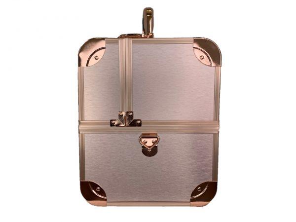 Бьюти кейс для косметики CWB 6350 розовое золото - изображение 4