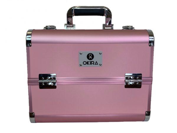 Бьюти кейс для косметики CWB 6350 розовый - изображение 1