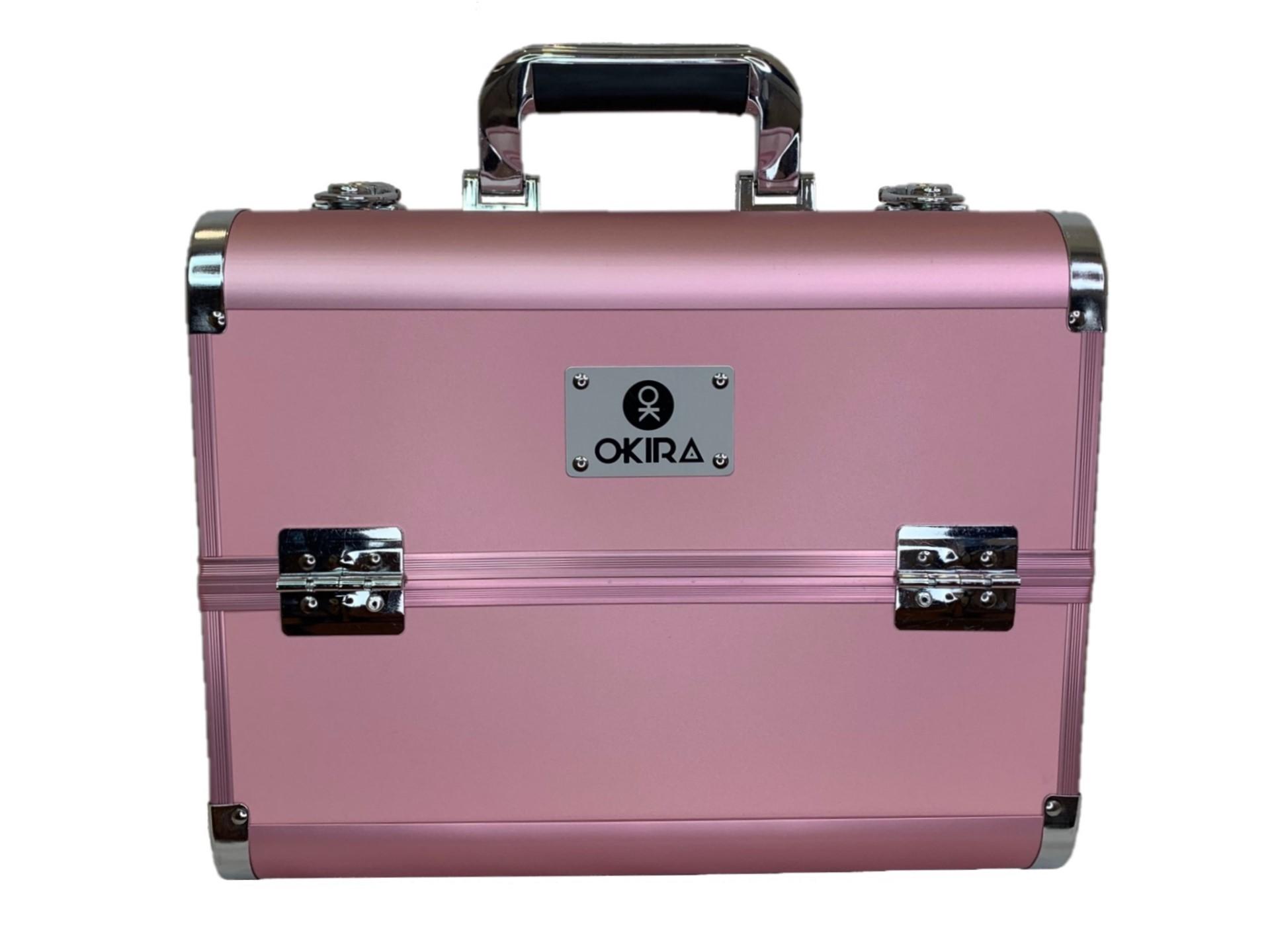Бьюти кейс для косметики CWB 6350 розовый - изображение