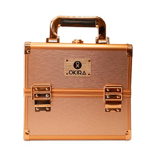 Бьюти кейс для косметики CWB 5350 розовое золото - изображение 2