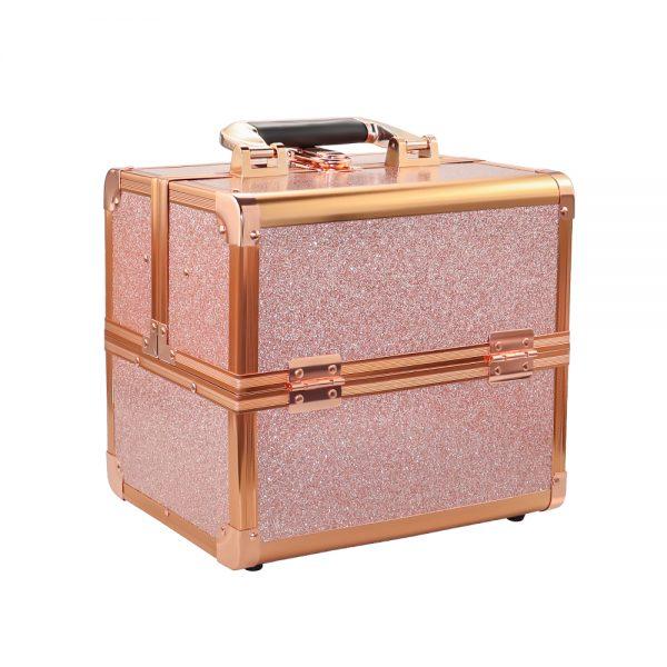 Бьюти кейс для косметики CWB 8316 розовое золото - изображение 1