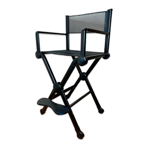 Разборный стул визажиста из алюминия X 901 - изображение