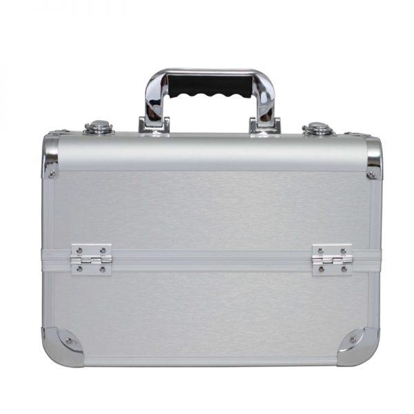 Бьюти кейс для косметики CWB 8340 серебряный - изображение 1