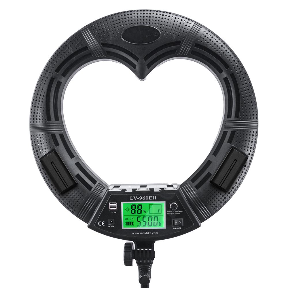 Лампа кольцевая OKIRA LED RING LV 480 E - изображение
