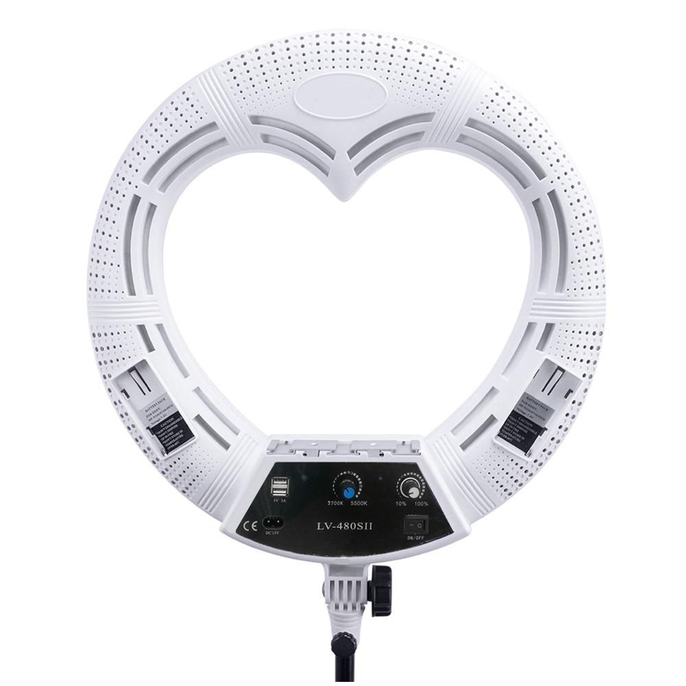 Лампа кольцевая OKIRA LED RING LV 480 S - изображение