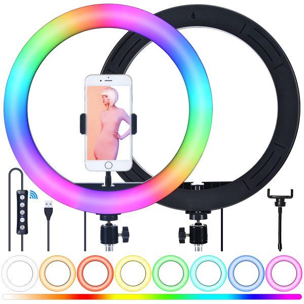 Лампа кольцевая OKIRA LED RING MJ 33 RGB - изображение 3