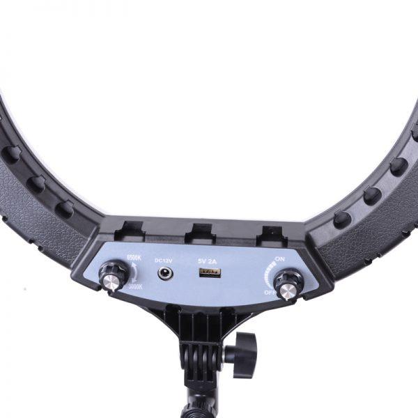 Кольцевая лампа OKIRO LED RING YQ 360 B 256 - изображение 8
