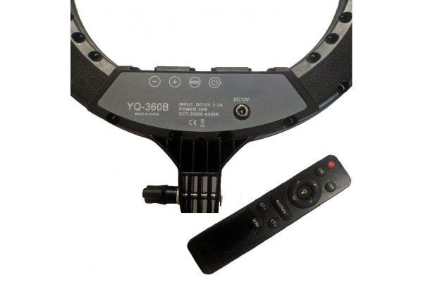 Кольцевая лампа OKIRO LED RING YQ 360 B 256 - изображение 2
