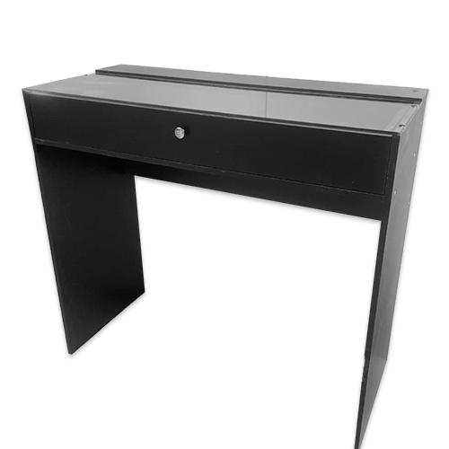 Стол гримерный 1 ящик (черный) 110 см - изображение 2
