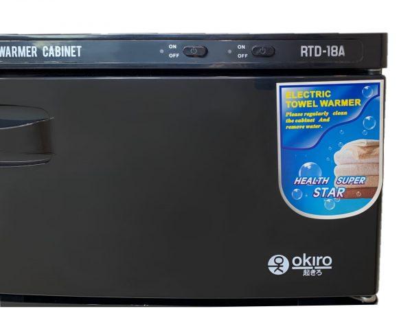 Нагреватель для полотенец (ошиборница) OKIRO RTD 18 A (черный) - изображение 5