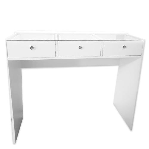 Стол гримерный 3 ящика (белый) 120 см - изображение 1