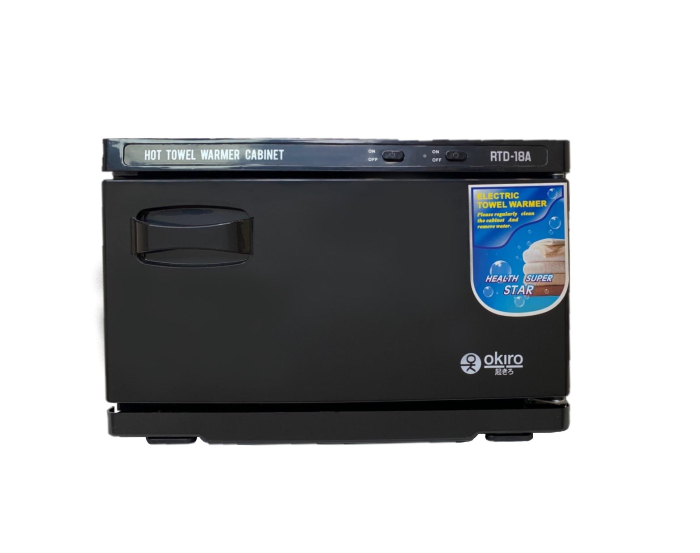 Нагреватель для полотенец (ошиборница) OKIRO RTD 18 A (черный) - изображение