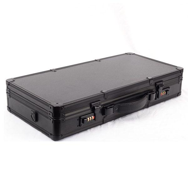 Кейс чемодан для барбера (парикмахера) OKIRO BC 002 (черный) - изображение 2