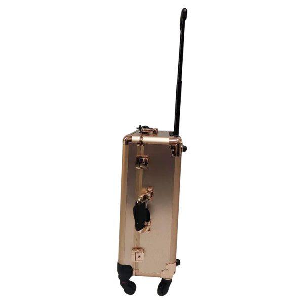 Мобильная студия визажиста розовое золото LC 003 - изображение 3