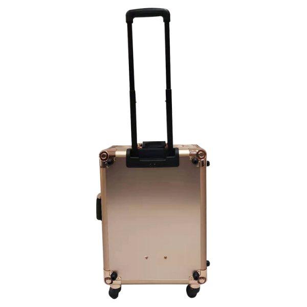 Мобильная студия визажиста розовое золото LC 003 - изображение 4