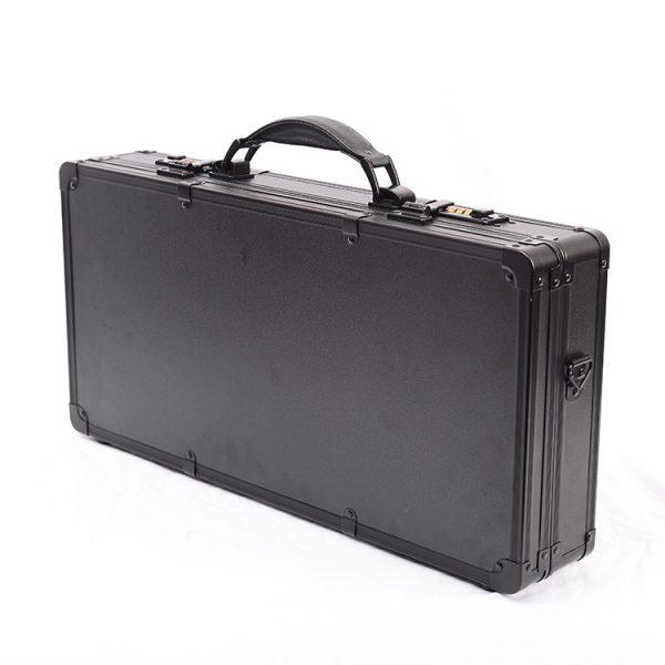 Кейс чемодан для барбера (парикмахера) OKIRO BC 002 (черный) - изображение 3