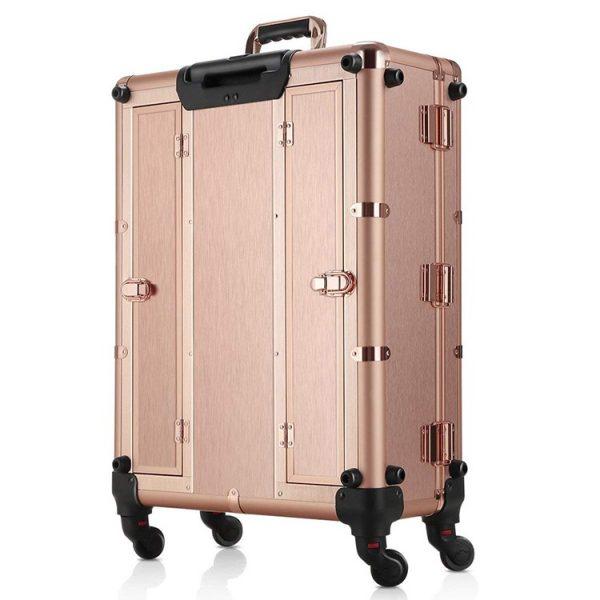 Мобильная студия визажиста розовое золото LC 004 - изображение 5