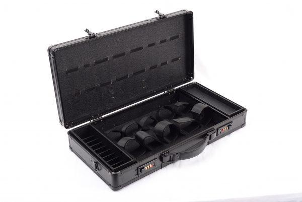 Кейс чемодан для барбера (парикмахера) OKIRO BC 002 (черный) - изображение 5