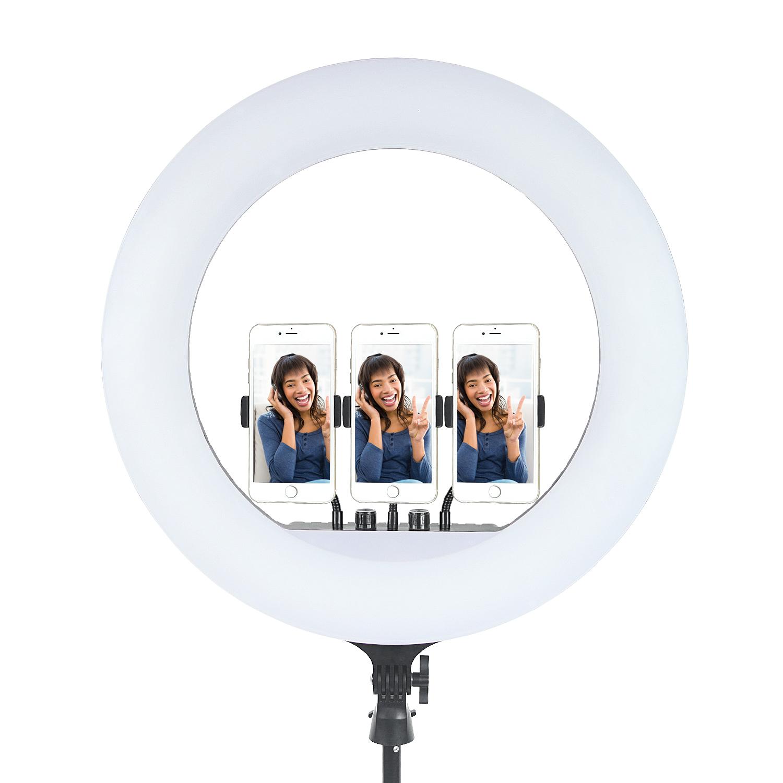 Кольцевая лампа OKIRO LED RING 480 FT 45 - изображение