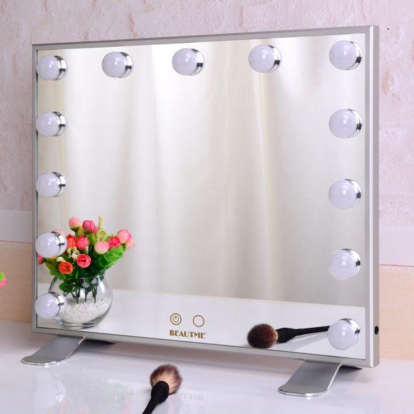 Зеркало гримерное L613 (белое) - изображение 2