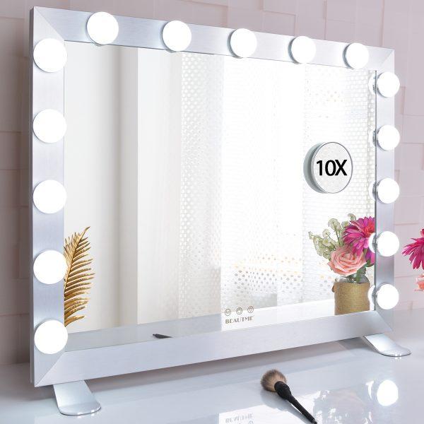 Зеркало гримерное  L611 (белое) - изображение 3