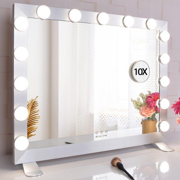 Зеркало гримерное  L611 (белое) - изображение 4