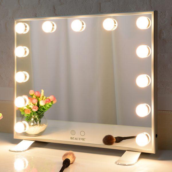 Зеркало гримерное L613 (белое) - изображение 5