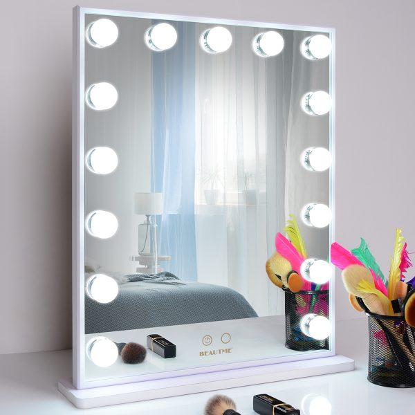 Зеркало гримерное L605V (белое) - изображение 2