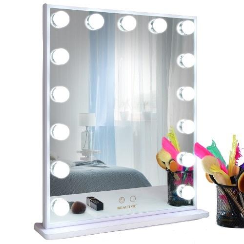 Зеркало гримерное L605V (белое) - изображение 1