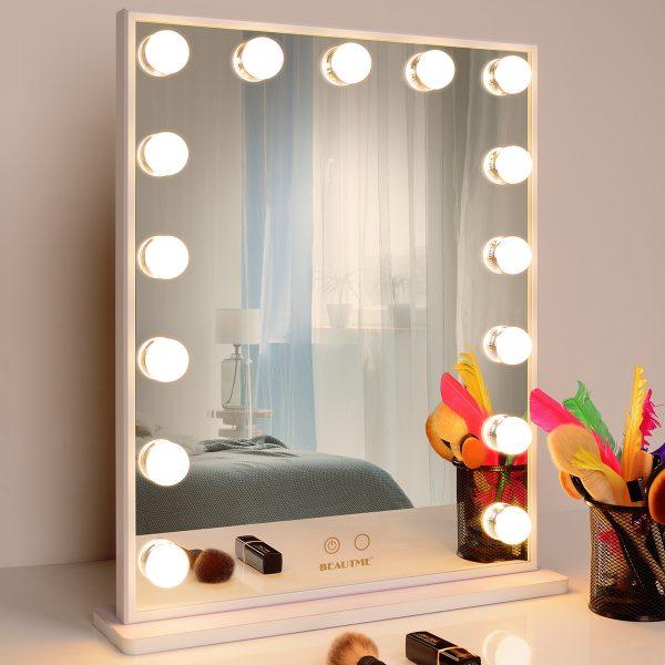 Зеркало гримерное L605V (белое) - изображение 4