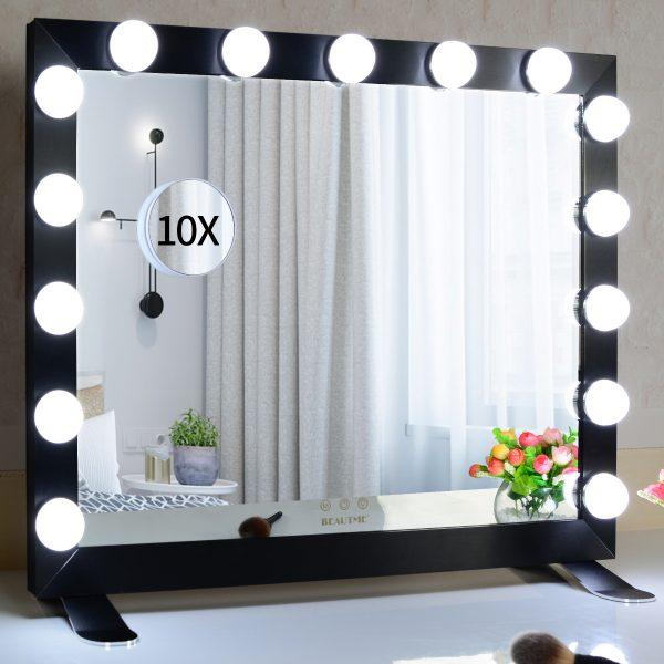 Зеркало гримерное  L611 (черное) - изображение 4