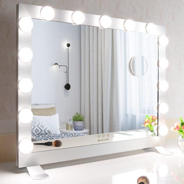Зеркало гримерное  L611 (белое) - изображение 7