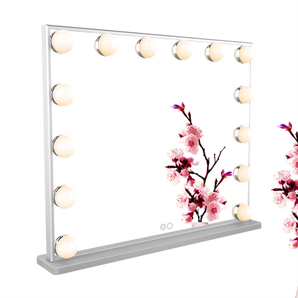 Зеркало гримерное L606H (металлик) - изображение