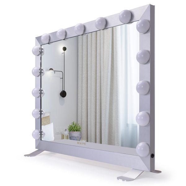 Зеркало гримерное  L611 (белое) - изображение 1