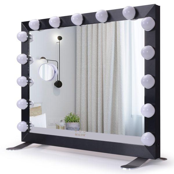 Зеркало гримерное  L611 (черное) - изображение 1