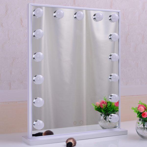 Зеркало гримерное L605V (белое) - изображение 8
