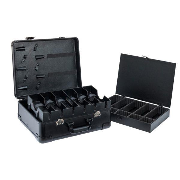 Кейс чемодан для барбера (парикмахера) OKIRO KC-RH01 (черный) - изображение 1