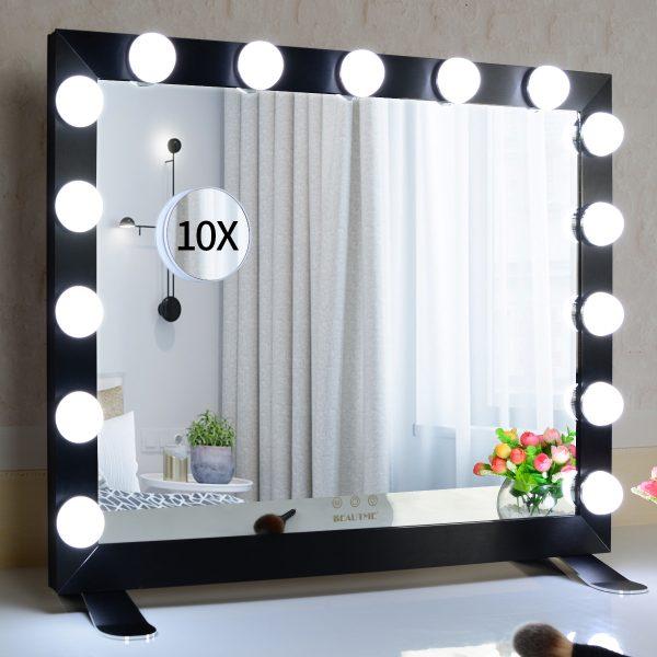 Зеркало гримерное  L611 (черное) - изображение 8