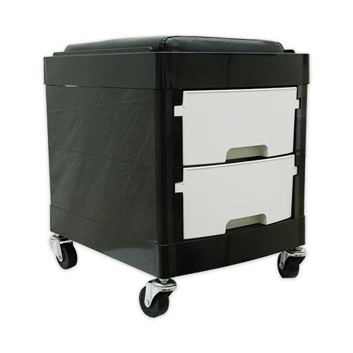 Тумба-тележка парикмахерская OKIRO X 04 (белая) - изображение 6