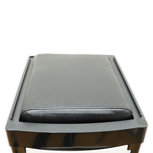 Тумба-тележка парикмахерская OKIRO X 04 (черная) - изображение 8
