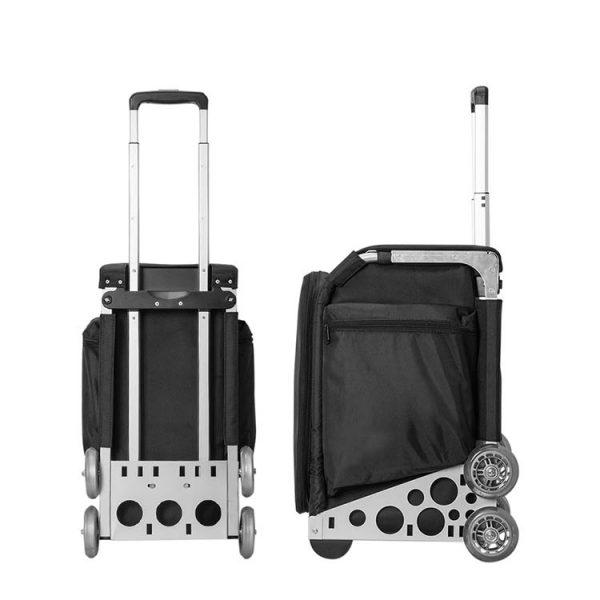 Сумка-чемодан для визажиста, стилиста на колесах OKIRO KC - изображение 5