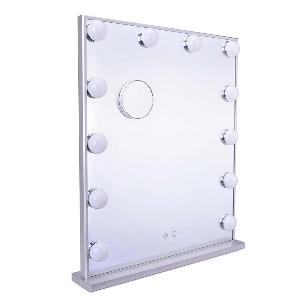 Зеркало гримерное L606V12 (белое) - изображение