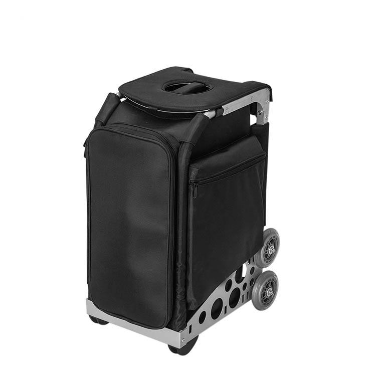 Сумка-чемодан для визажиста, стилиста на колесах OKIRO KC - изображение