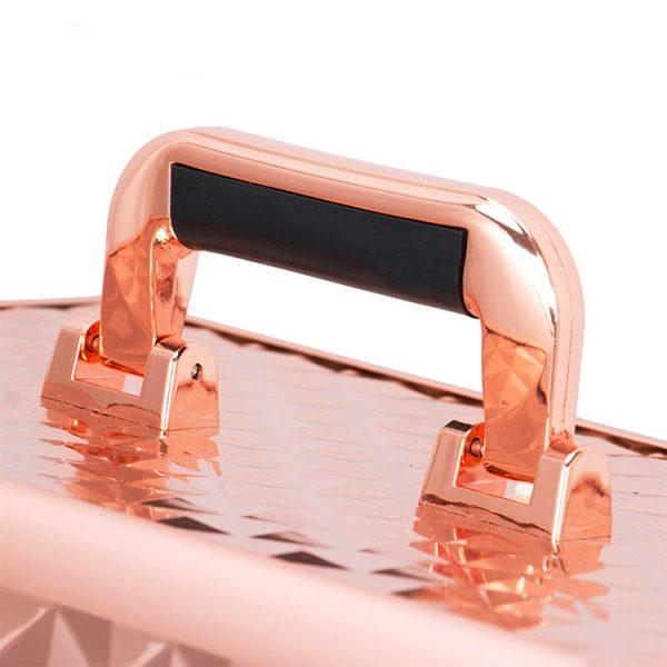 Бьюти кейс для косметики OKIRO KС178L золотой бриллиант - изображение 3
