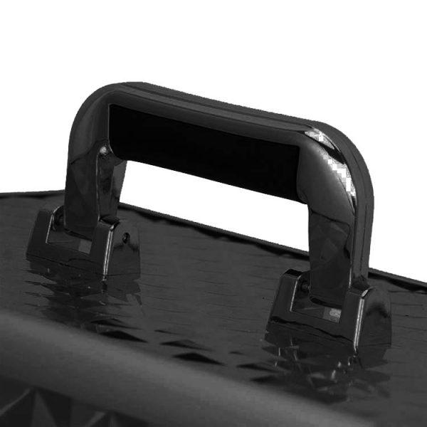 Бьюти кейс для косметики OKIRO KС178L черный бриллиант - изображение 2