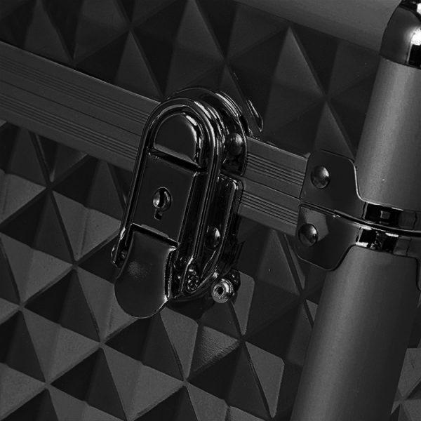 Бьюти кейс для косметики OKIRO KС178L черный бриллиант - изображение 3