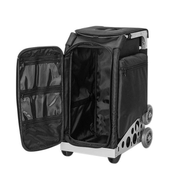 Сумка-чемодан для визажиста, стилиста на колесах OKIRO KC - изображение 2