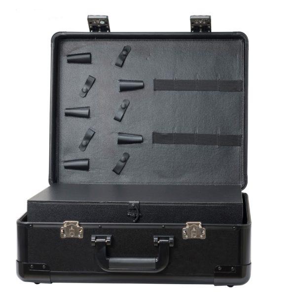 Кейс чемодан для барбера (парикмахера) OKIRO KC-RH01 (черный) - изображение 3
