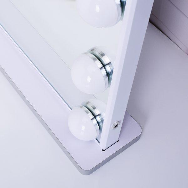 Зеркало гримерное L605V (белое) - изображение 6