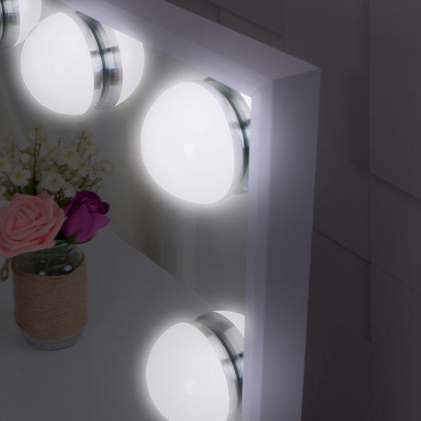 Зеркало гримерное L605V (белое) - изображение 7
